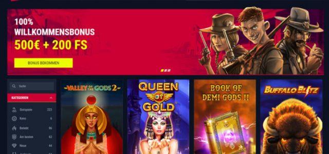 Rabona - bonus 100% hingga € 500 plus 200 game gratis