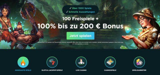 Spela - 100 putaran gratis & bonus 100% hingga 200 euro