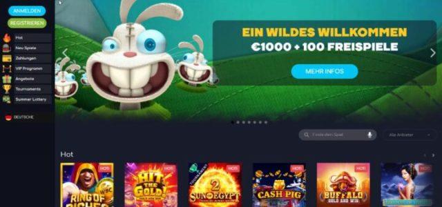 Wild Tornado - Bonus € 100 + 100 Putaran Gratis