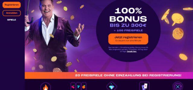 Wheelz - 100% bis zu 300 EUR & 100 Freispiele